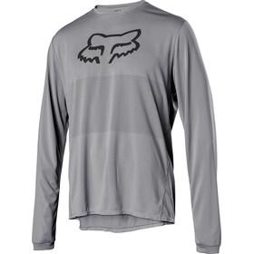 Fox Ranger Foxhead Langarm Trikot Herren steel grey